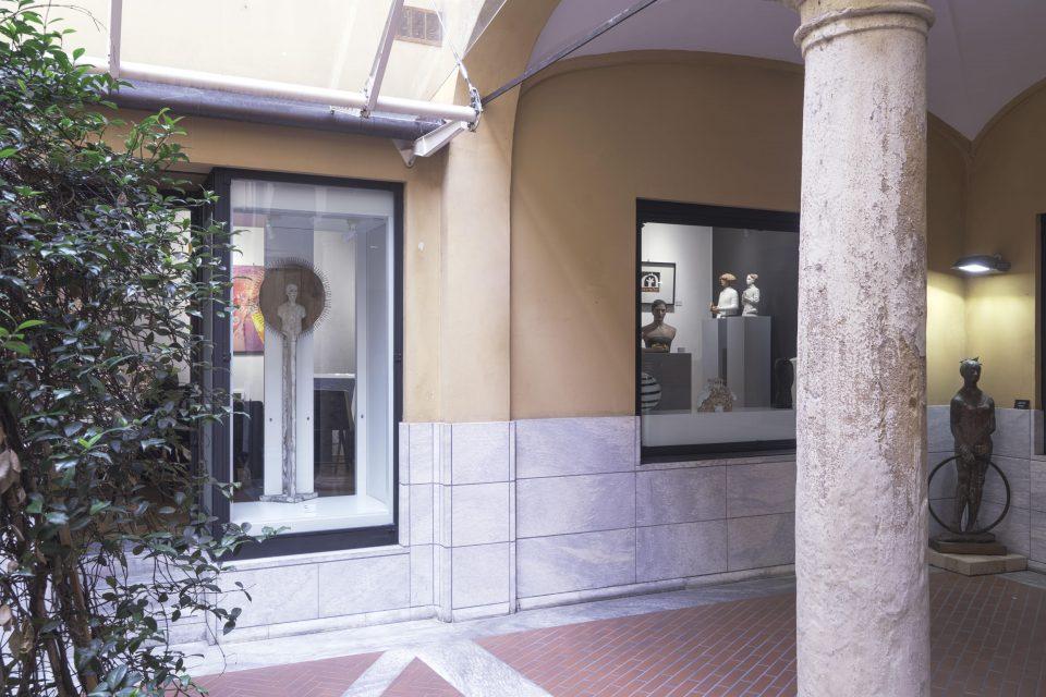 Esterno Galleria Sgallari Arte